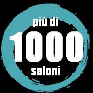 oltre 1000 parrucchieri e centri estetici serviti